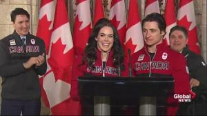 Tessa Virtue, Scott Moir named Canada's flag bearers 2018 Winter Games