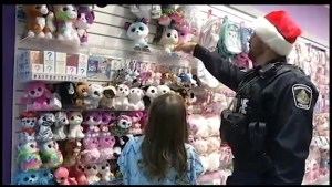 Local students get in some holiday shopping during annual Cop Shop