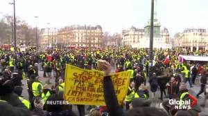 'Yellow vests' march through Paris in ninth round of protests