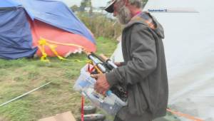 Saanich homeless camp moved again