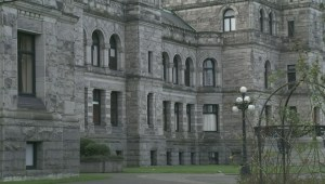What accountability grade did the BC government get?