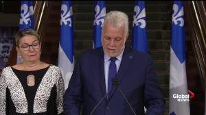 Couillard's departing message to anglophones: We are all first-class Quebecers