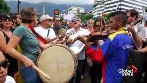 Venezuelan musicians protest, claim leaders holding quick military trials on opposition civilians