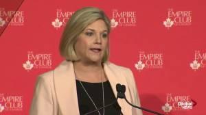 Hard work needed to ensure 'vehicles of tomorrow' are built in Ontario: Horwath (01:03)