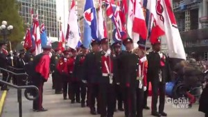 Torontonians gather for annual Remembrance Day service
