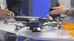 SFU students design drone