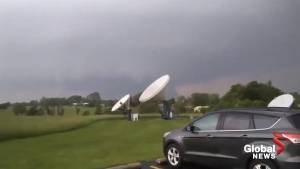 Tornado touches down behind local TV station in Missouri