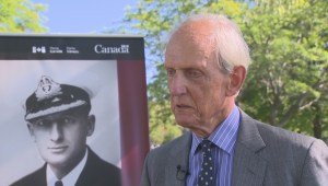 Hometown war hero honored in Montreal