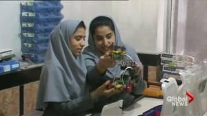 Afghanistan female robotics team will compete via Skype after being denied U.S. visas