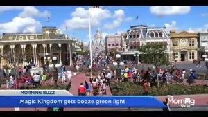 Magic Kingdom getting booze