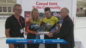 Chelsea Carey & Colin Hodgson win Canad Inns Mixed Doubles Classic
