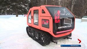 First-ever electric snowcat unveiled in Edmonton