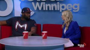 Israel Idonije speaks with Global News Morning