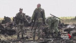 Pro-Russian separatists shot down transport plane killing 49 troops