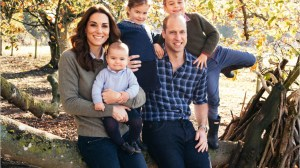 Royal Family releases  Christmas card photos