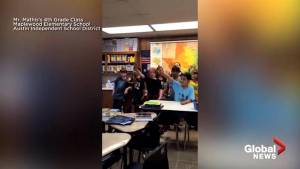 Midterm Elections: 4th graders sing Texans to the polls in social media video
