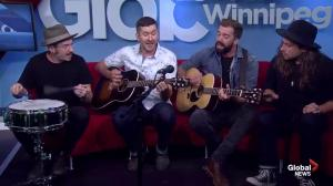 Canadian rock band stops in Winnipeg as part of a prairies tour