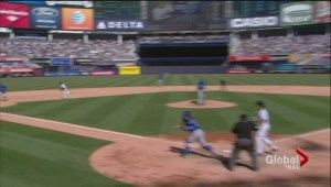 Canadians call foul after U.S. sportscaster's comment during Blue Jays game
