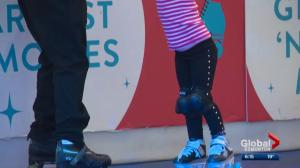 Southgate Centre's pop-up roller rink a success