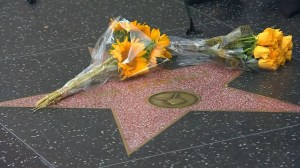 Flowers, wreath laid at Tim Conway's star on Hollywood Walk of Fame remembering actor