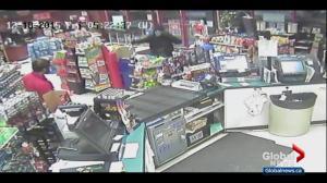 Jury sees surveillance video of deadly Edmonton Mac's robbery
