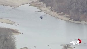 Calgary police, firefighters search Bow River for bodies on Tuesday