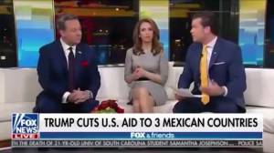 'Fox and Friends' airs graphic about Trump cutting aid to '3 Mexican countries', later apologizes