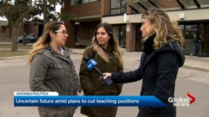 Education students worry about Ford government teacher cuts