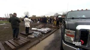 Flood situation under control in Pierrefonds
