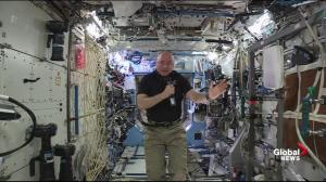 Scott Kelly gives his advice to kids who want to be an astronaut