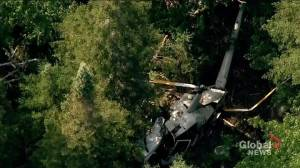 TSB investigating helicopter crash in Lac Valtrie