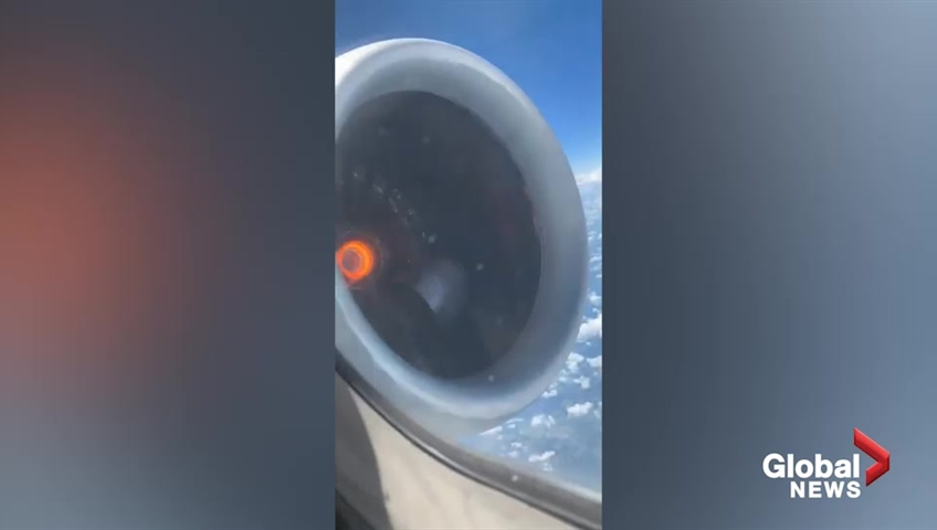 Delta engine falls apart midflight before emergency landing