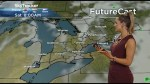 Humid weather heading into the long weekend