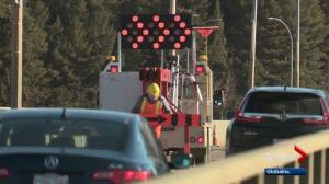Traffic headaches as Groat Road bridge construction begins