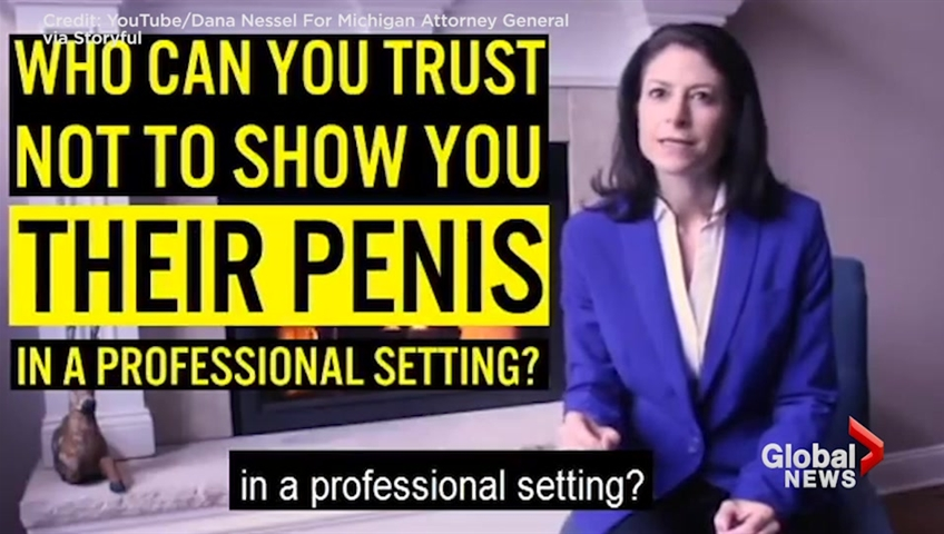 Attorney general candidate: Vote for me because I don't have a penis