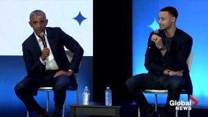Barack Obama, Steph Curry and John Legend kick off Obama Foundation's MBK Rising!