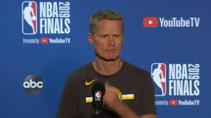 NBA Finals: Steve Kerr, Nick Nurse go over final preparations for Game 3 (21:28)