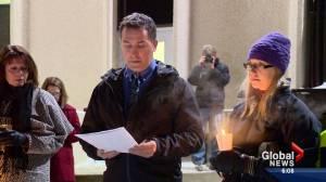 Saskatoon teachers gather to honour La Loche victims