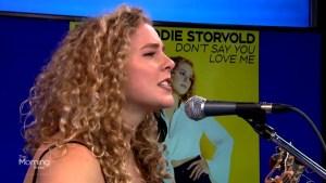 Maddie Storvold performs