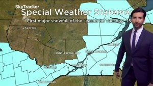 Montreal to be hit with about 15 centimetres of snow