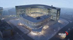Calgary Cancer Centre design plans unveiled (01:56)