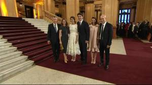 Justin Trudeau arrives for G20 dinner and family photo
