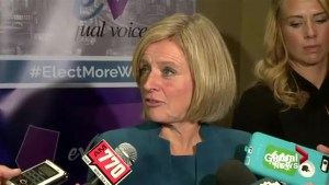 Rachel Notley says Quebec's face-veil ban 'smacks of Islamophobia'