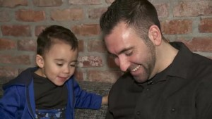 Single father evicted because of child's noisy behaviour