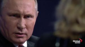 Putin says claims of Russian hacking, meddling just 'assumptions'