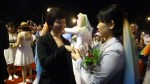 Colourful wedding banquet held for same-sex newlyweds in Taiwan