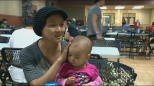 Fort McMurray mother's still feel appreciation despite being displaced