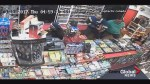 Video shows dramatic attempted robbery at Calgary convenience store