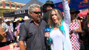 'Mayor of flavourtown' Guy Fieri heats up Calgary Stampede