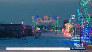 Check out the Magic of Lights at Castrol Raceway this Christmas